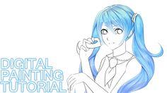 [Tutorial] How to color manga hair