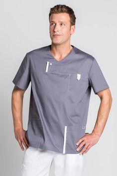Scrubs Outfit, Scrubs Uniform, Men In Uniform, Dental Uniforms, Healthcare Uniforms, Scrubs Pattern, Stylish Scrubs, Beauty Uniforms, Big Men Fashion