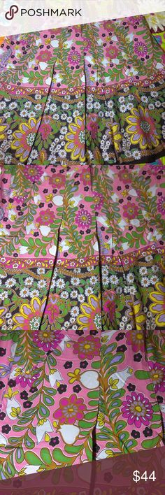 Flower Power Vintage cabi Spring '09 Ashbury Skirt cabi ♥ Spring 2009 Ashbury Skirt #933 ♥ Brand NEW without tag! Beautiful floral spring inspired skirt is darling! Bright and happy skirt has easy movement, 2 front slit side pockets and flowy design. Pleated A-line skirt is a right above the knee length with zip back closure. Perfect addition to your spring wardrobe!   Fabric: 100% Cotton  Garment Care: Machine Wash - Tumble Dry  ♥ Please visit my closet again soon - lots of excellent deals…