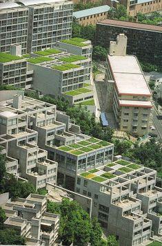Conjunto residencial Rokko I, II, III, IV Kobe 1978