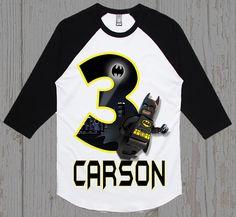 Batman Lego Birthday Shirt  Batman Shirt  Tank Top Available