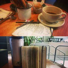 Moleskine - myMoleskine - My morning's notes!!!