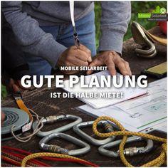 +++ Mobile Seilarbeit +++ Man kann sagen was man will, aber mit guter Planung ist die Sache - weil man weiß, was man tut, wesentlich entspannter.  😃  #natur #seminar #training #personalentwicklung #outdoorpädagogik
