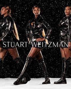 "1,252 Me gusta, 17 comentarios - STUART WEITZMAN (@stuartweitzman) en Instagram: ""It's time to Be In Your Element. Our new Winter Campaign stars @serenawilliams in styles designed…"""