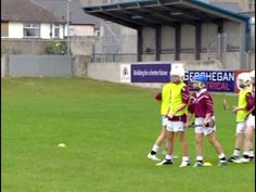 Hurling skills - conditioned games - YouTube