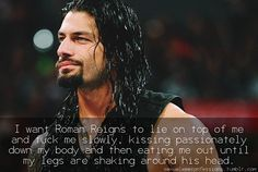 """""""""""Roman Reigns would probably have phone sex with you after a long day of work, because he misses you and he can't help but hear you. Roman Reigns Memes, Wwe Roman Reigns, Beautiful Joe, Beautiful Photos Of Nature, Roman Reigns Shirtless, Love Confessions, Roman Regins, Wwe Superstar Roman Reigns"""