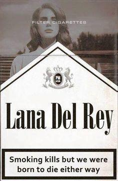 Lana del Rey #smoking