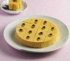 Hobaktteok (Pumpkin Rice Cake)