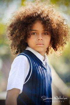 Gorgeous little boy!