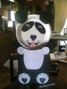 Finished My Daughteru0027s Panda Valentine Box For School