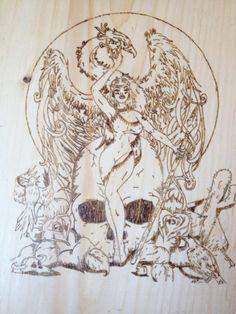 phoenix Wood Crafts, Phoenix, Art, Kunst, Woodworking Crafts, Wood Creations, Art Education, Artworks