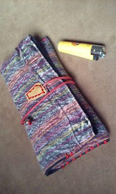 Portatabacco tasca porta filtri porta cartine di robafattamman
