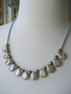 Woodland Beaded Necklace