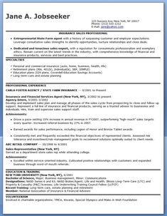 Insurance Manager Resume Example Resume examples Sample resume