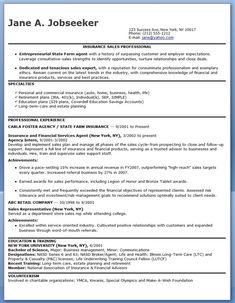 insurance coordinator sample