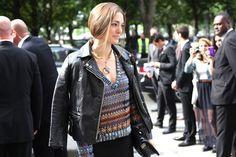 Street looks à la Fashion Week haute couture de Paris, Jour 2 Chanel