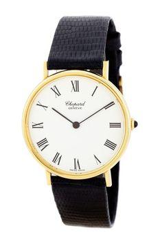 Chopard Men's/Unisex Classic 18K Yellow Gold Watch by Designer Estate Watches on @HauteLook