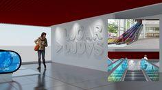 Propuesta de arquigrafía para espacios exteriores e interiores del museo interactivo Lugar a Dudas en el Centro Cultural de la Ciencia.