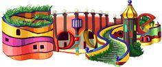 Friedensreich Hundertwasser's 83rd Birthday