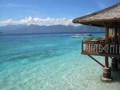 Gili Meno Turtle Sanctuary, where both loggerhead and green sea turtles are hatched in safety and can be released by hand for a small donation
