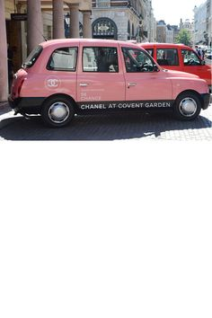 CHANEL taxis: making London more beautiful - beauty news