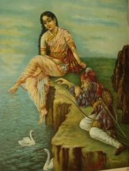 Ulūpī or Uloopi, in the Hindu epic Mahabharata, was one of Arjuna's wives. While Arjuna was in Manipur, the widow Naga princess became infat...
