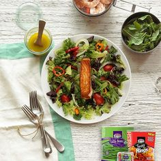 Delight your taste buds with this nutrient dense salad, featuring a fresh salmon filet!  FRESH SALMON SALAD WITH  LEMON DIJON VINAIGRETTE  INGREDIENTS 3 cups baby spring lettuce mix 8oz. Salmon filet, cooked to desired texture 1 cup Pero Family Farms:regi (scheduled via http://www.tailwindapp.com?utm_source=pinterest&utm_medium=twpin&utm_content=post98316875&utm_campaign=scheduler_attribution)