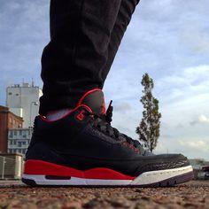 """Air Jordan 3 """"Crimson"""""""