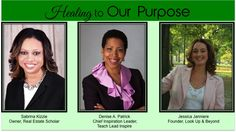 Teach Lead Inspire: Healing to Our Purpose. This event on June 18, hosted by three dynamic women, will help women (and all who attend) tap into their true purpose and let it lead you in life. Check it out!