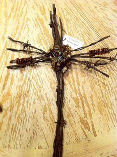 Barbwire Cross....LOVE IT!