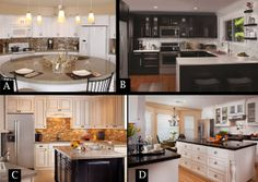 In which of these kitchens would you want to whip out the mixing bowls?  #kitchen #remodel #homedesign