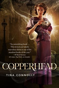 Copperhead (Ironskin #2) by Tina Connolly