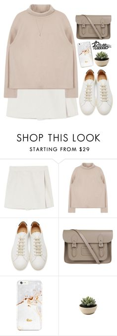 """Paletto shop 15"" by mihreta-m ❤ liked on Polyvore featuring Common Projects, The Cambridge Satchel Company and Minor Obsessions"