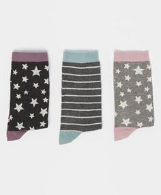 Pack of shiny star socks - OYSHO