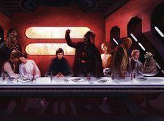 Last Supper - Star Wars