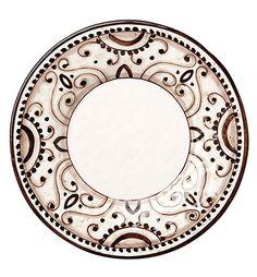 VIETRI Arabesca Dinner Plate #irresistiblyitalian