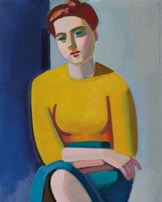 We have all fallen in love with Hanne in her yellow blouse  She is by far the best seller in our museum shop these days! If you also crave a Hanne for your wall, you can still buy the poster via our website or here at the museum. Vilhelm Lundstrøm, 'Portrait of Hanne Wilhelm Hansen', 1946, Ordrupgaard.