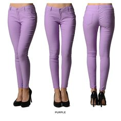Dinamit 5-Pocket Super Fly Stretchy Pants - Assorted Colors at no more rack for only $15.