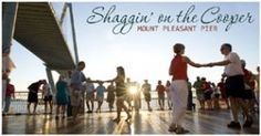 Shaggin' on the Cooper. Dust off your dancing shoes and get ready for summer and Shaggin' on the Pier! Live music will fill the air with local bands performing throughout the