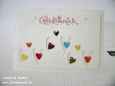 Geburtstagskarte, Birthday card Stampin Up 029