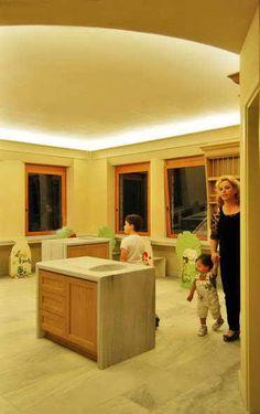 Philippitzis & associates » Blog Archive » Άξιον Εστί – Πολυχώρος εκπαίδευσης και ψυχαγωγίας Corner Bathtub, Kitchen Island, Architecture, School, Blog, Home Decor, Island Kitchen, Arquitetura, Decoration Home