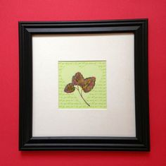 I LoveYouWill You Marry Me  Framed Pressed by MyStoningtonGarden, $35.00