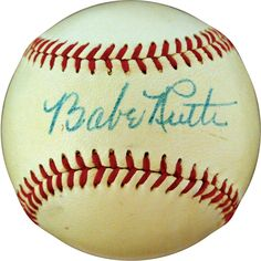 High Grade Autographed Babe Ruth Baseball Sells for $97,000