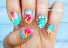 Résultats de recherche d'images pour «tropical nail art designs»