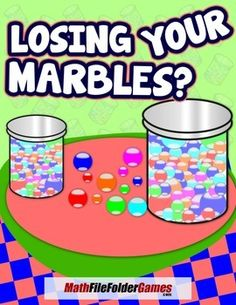 Losing Your Marbles? {Mental Math Game}  http://www.teacherspayteachers.com/Product/Losing-Your-Marbles-Mental-Math-Game-1545622