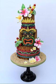 Enchanted Tiki Room cake! #disneycake #adventureland