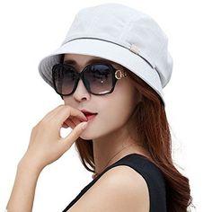 4ec16eb687cc5 Siggi Womens UPF50+ Summer Sunhat Bucket Packable Wide Brim Hats w Chin Cord