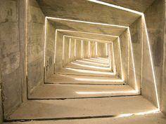 Negev Monument by Dani Karavan  A village of concrete sculptures covering an area of 10,000 square meters.