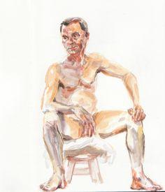 Adam Murphy - Life Drawing at the Botanics, Glasgow Life Drawing, Sketchbooks, Glasgow, My Drawings, Statue, Artist, Painting, Sketch Books, Artists