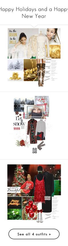 """""""Happy Holidays and a Happy New Year"""" by gizibe ❤ liked on Polyvore featuring Dries Van Noten, Chictopia, Balmain, Chrome Hearts, Nordstrom, She's So, Dotti, MSGM, Tory Burch and Marni"""